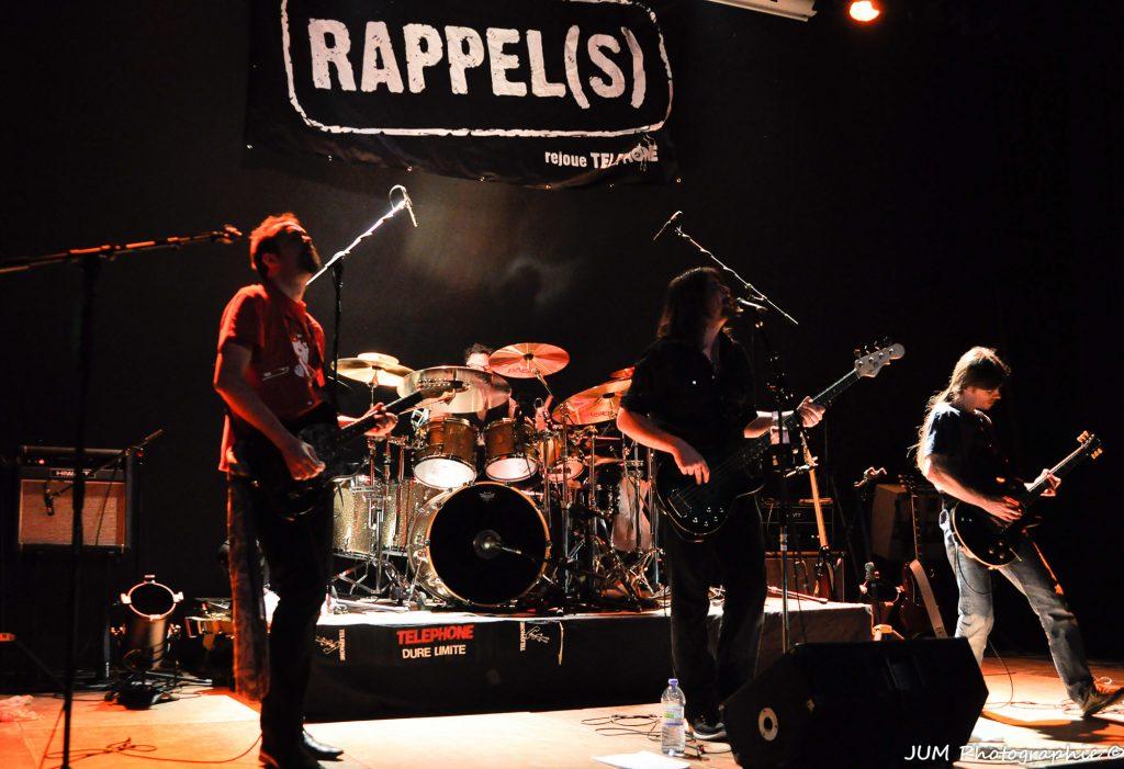Rappel(s) rejoue TELEPHONE